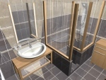 Visualization bathrooms